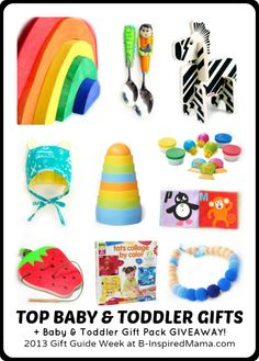 B-Inspired Mama shares her 10 Top Picks for the Little Ones in her 2013 Baby & Toddler Gift Guide!