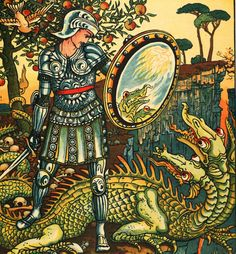 S-M-L-XL Walter Crane Mythology Painting Ceramic Bathroom Shower Tile Murals