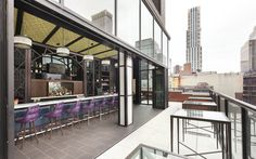Best Rooftop Bars in NYC: Spyglass