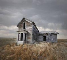 "Saatchi Art Artist Ed Freeman; Photography, ""Abandoned House, Nebraska Edition 1 of Abandoned Farm Houses, Abandoned Buildings, Old Buildings, Abandoned Places, Old Houses, Beatles, Ed Freeman, Milan Kundera, Building Photography"