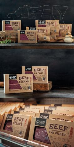 Silver Ferns Farm. Beef type sorted. #Packaging #Design #Beef