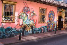 https://flic.kr/p/HVbKUb | Street art in La Candelaria | Captured in Bogota's La Candelaria