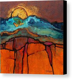 Landscape Paintings and photographs : Edge of Sedona 110816 by Carol Nelson Acrylic 8 inches x 8 inches Landscape Art, Landscape Paintings, Picasso Paintings, Original Paintings, Art Paintings, Painting Collage, Portrait Paintings, Acrylic Paintings, Original Art