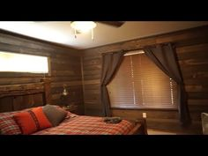 make it really real If you're thinking barn wood paneling would be so cool to have, ours is created with the highest quality wood and craftsmanship you'll find — plus, we don't know of Barnwood Paneling, Barn Wood, Curtains, Cool Stuff, Home Decor, Blinds, Decoration Home, Room Decor, Draping
