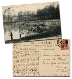 antique post card...