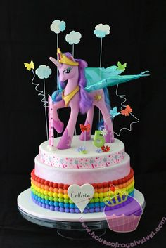 Unicorn cake ideas | Callista just loves unicorn, rainbow & butterflies. As long as these ...