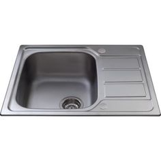 CDA KA55SS Ultra Compact 1.0 Bowl Reversible Stainless Steel Sink   Appliances Direct
