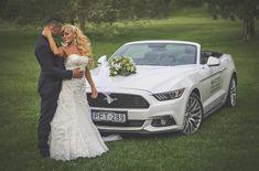 Ford mustang menyasszonyi autó