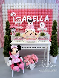 Minnie Mouse Birthday Party Ideas   Photo 1 of 26   Catch My Party
