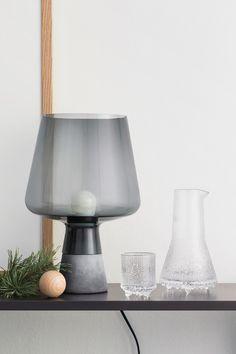 Leimu lampe from Ittala Beautiful Table Lamp, Glass Table, Decor, Warm Light, Glass Lighting, Bedside Carafe, Glass Table Lamp, Lamp Light, Nordic Living