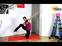 Barre Ballet Style Abs workout - Standing and Kneeling Abs BARLATES BODY BLITZ - YouTube
