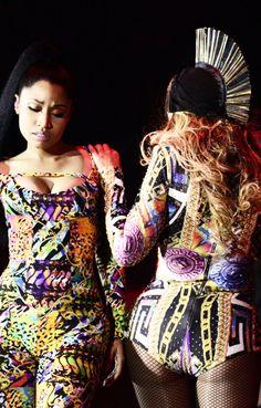 "OTR Tour Beyoncé & Nicki Minaj Stade de France Paris 13.09.2014 """
