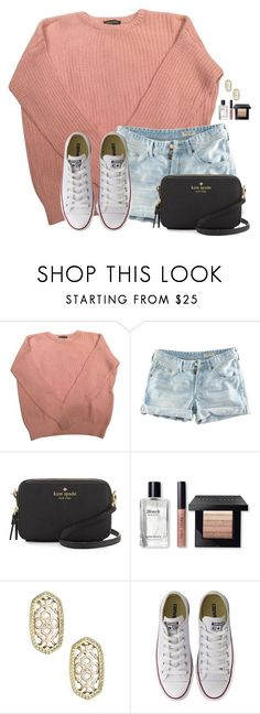"""If you wouldnt mind Im asking for your prayers...RTD"" by flroasburn ❤ liked on Polyvore featuring American Apparel, H&M, Kate Spade, Bobbi Brown Cosmetics, Kendra Scott and Converse"