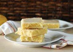 Recipe for Sticky Gooey Lemon Brownies