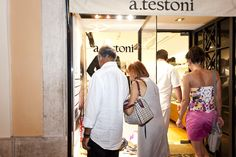 #Testoni #BelowTheLine #Party #VogueFashionNightOut #VFNO #2011 #Roma