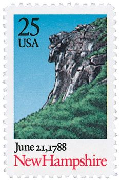 1988 25c New Hampshire - Catalog # 2344 For Sale at Mystic Stamp Company