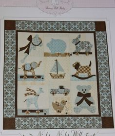Nighty Night Will Baby Quilt Pattern Bunny Hill Design