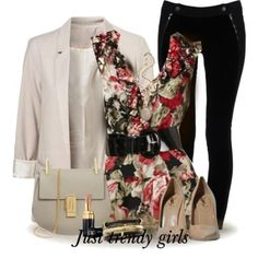 Classic outfits for woman, Spring work outfits for women http://www.justtrendygirls.com/spring-work-outfits-for-women/