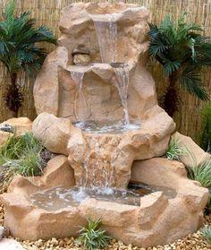 cascada jardin