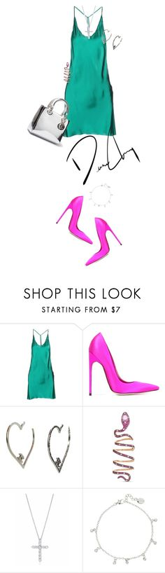 """""""Untitled #127"""" by bydhoney ❤ liked on Polyvore featuring Ann Demeulemeester, Brian Atwood, Stéfère and Tiffany & Co."""