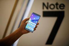 Alerta: Samsung recomenda deixar de utilizar o Galaxy Note 7