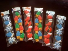 Christmas mini sets LOVE this packaging idea!