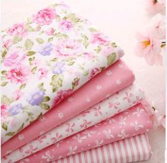 Pink Series 8pcs/lot 50x50cm patchwork fabric 100% cotton quilt plain textiles For sewing crafts Curtain Baby Cloth DIY tilda cloth New