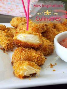 Chicken nuggets au four {cuisine saine}