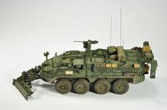 AFV Club 1/35 M1132 Stryker ESV Photo Feature Image