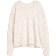 Oversized jumper 99 AED ($20) ❤ liked on Polyvore featuring tops, sweaters, oversize sweater, wool jumper, ribbed top, oversized jumper and drop shoulder tops