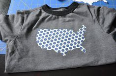 20 minute crafter. july 4th t-shirt.