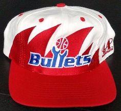 96b84c179fe Vintage-Kings.com. BulletsNhlSnapbackBaseball HatsWashingtonAthleticBaseball  CapsAthleteBaseball Hat. Washington Bullets Vintage Snapback NBA Logo ...