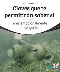 Claves que te permitirán saber si eres emocionalmente inteligente Para ser emocionalmente inteligente no se necesita un máster ni haber pasado una temporada en el Tíbet.
