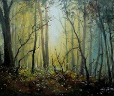 Czech Painter Milan Čihák - Forest Still Life
