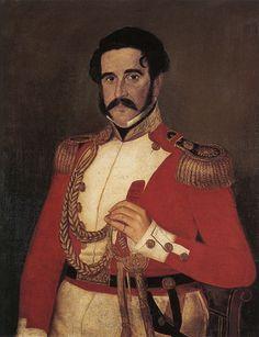 Amadeo Gras Retrato del Coronel Joaquín María Ramiro  Arte argentino del siglo XIX. Cronología: 1827