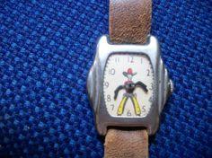 C 1950's Vintage Child's Toy Cowboy Watch