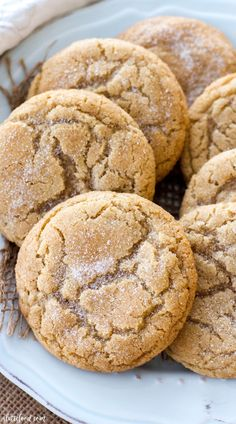 These soft and chewy maple snickerdoodles are so easy to make! The pure maple sy., Desserts, These soft and chewy maple snickerdoodles are so easy to make! The pure maple syrup flavor adds a sweet twist on the classic snickerdoodle recipe! Fall Baking, Holiday Baking, Christmas Baking, Thanksgiving Baking, Thanksgiving Cookies, Easy Cookie Recipes, Sweet Recipes, Baking Recipes, 12 Cookie Recipe