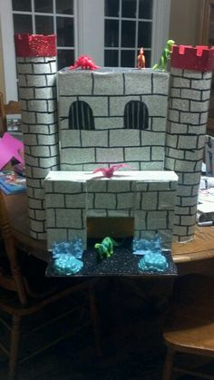 Merida Castle Valentineu0027s Day Box | Valentine Ideas | Pinterest | Merida,  Valentineu0027s Day And Castles