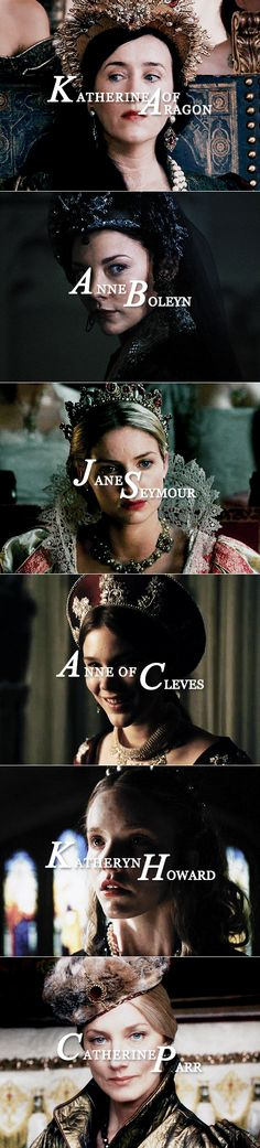 The Six Wives of Henry VIII on the Showtime series, The Tudors.