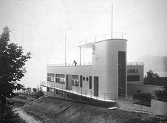 Clubhouse for AMILA, Tremezzo, Lake Como, 1931, by Pietro Lingeri