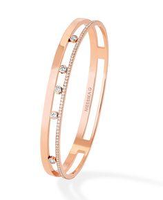 Messika bracelet Move Romane avec diamants en mouvement