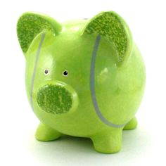 tennis ball piggy bank...Perfect way to sneak in a way to get the kids to love the sport more! :)