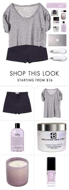 """"""" Champagne, cocaine, gasoline, and most things in between. """" by centurythe ❤ liked on Polyvore featuring MANGO, NSF, Samsung, philosophy, Brilliance New York, Polaroid, Music of the Spheres, JINsoon and H&M"""