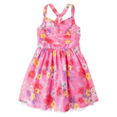 c528c859f66a6 Cherokee® Girls  Dress - Assorted Colors.. and the big girl one comes