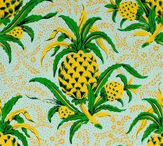 Papier peint, Pineapple (Adelphi Paper Hangings)