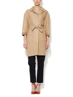 Cotton Silk Duster Coat by Marni at Gilt