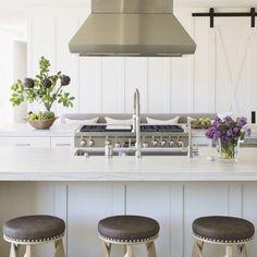 Batten board in kitchen