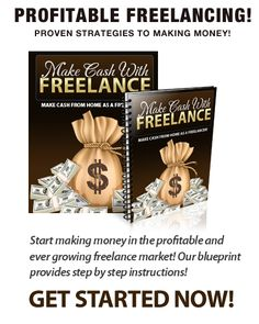 This 57 page guide was written by a seasoned freelancer with over 12 years of online experience. Find out how you can start making money from a variety of freelance positions, even if you lack experience.