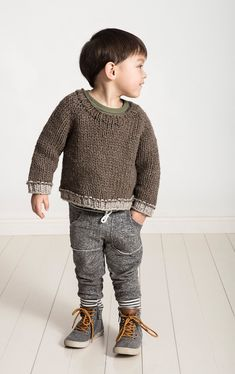 Ready, set, knit! This winter for our newest Knit-A-Long we will be working on our Jack & Jill Jumper together. We love this pattern because it's a unisex basic, so it could be passed down sibling-to-sibling or even generation-to-generation.