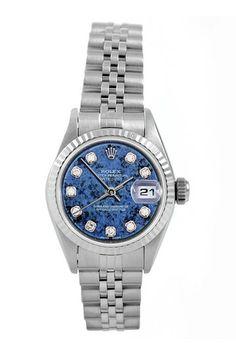 Vintage Rolex Women's Datejust Stainless Steel Watch on HauteLook